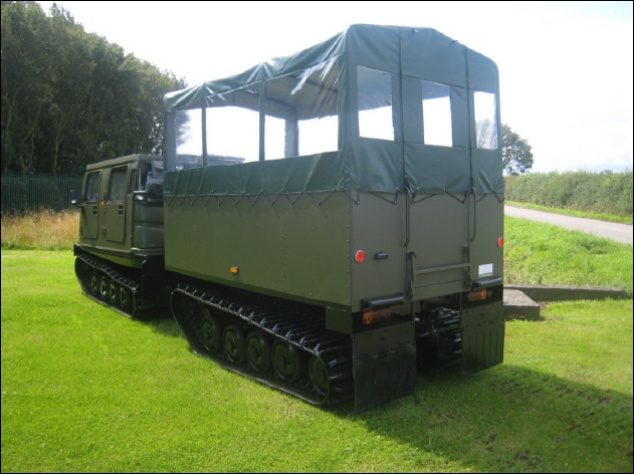 Shoot / Estate Vehicles » Hagglund BV206 All Terrain Vehicles