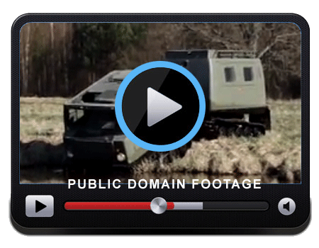 Video of a Personnel Carrier being tested